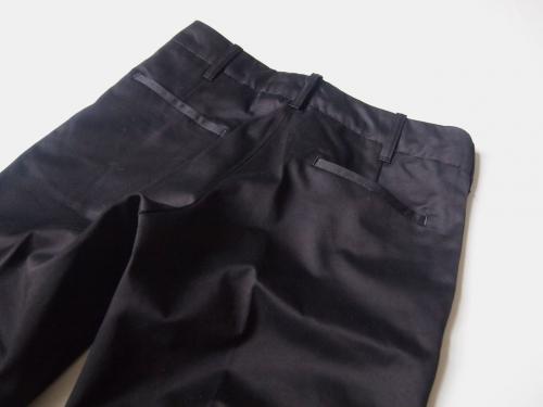 ツキtukiトラウザース黒madeinjapan日本製岡山デニムパンツ03