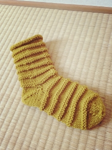 靴下になりました。