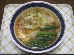 昼の野菜うどん20140721