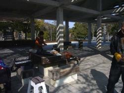 鏡山公園でアコ練習2140224-1