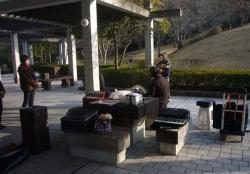 鏡山公園でアコ練習2140224-2