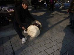 鏡山公園でアコ練習2140224-3