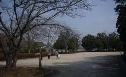 鏡山公園で練習20140225-1