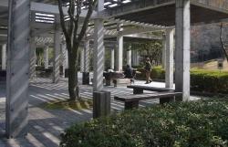 鏡山公園で練習20140225-2