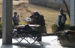 鏡山公園で練習20140225-3