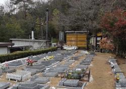 レジちゃん49日の広島ペット霊園20140214-3