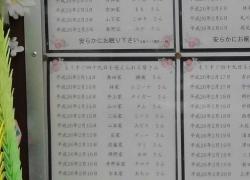 レジちゃん49日の広島ペット霊園20140214-5