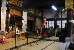 照蓮寺コンサート20140628-3