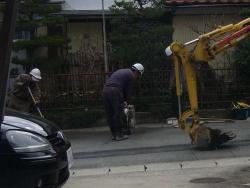 水道管布設替え工事20140329-1