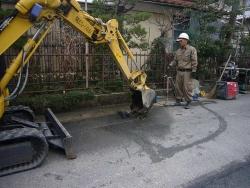水道管布設替え工事20140329-2