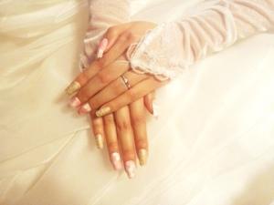友禅和紙アートネイルチップ 和風ネイル 結婚式ネイル 卒業式ネイル 成人式ネイル 和装ネイル 和柄ネイル 和紙ネイル オーダーメイドネイル suicocco. wedding box ふりそでMOD