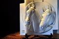 かわらレリーフの馬-1