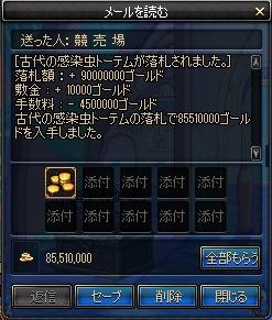 70桃トーテム売却90m