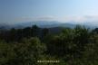 高尾山頂から丹沢の山並み
