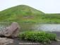 阿弥陀池と男女岳