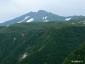 鉾立展望台から鳥海山新山