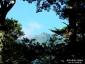 遥拝の鳥居から石鎚山