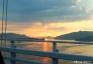 夕陽4、因島大橋