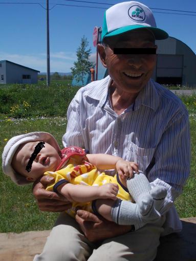 最長老と最年少のコラボ