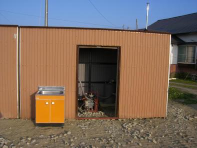 20090811_井戸・ポンプ室
