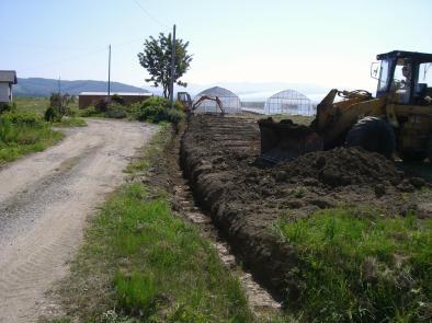 20090811_排水用明渠掘り