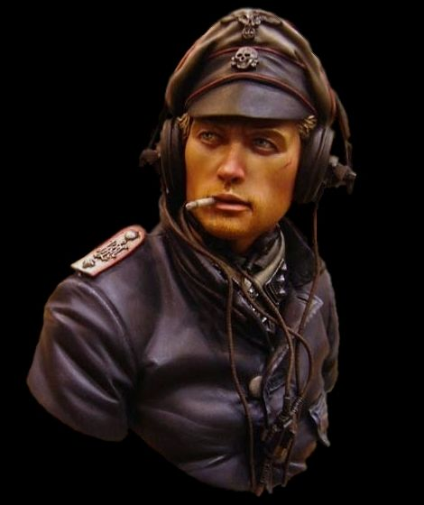 MIG productions_SS panzer ommander_1/10 scale_bust