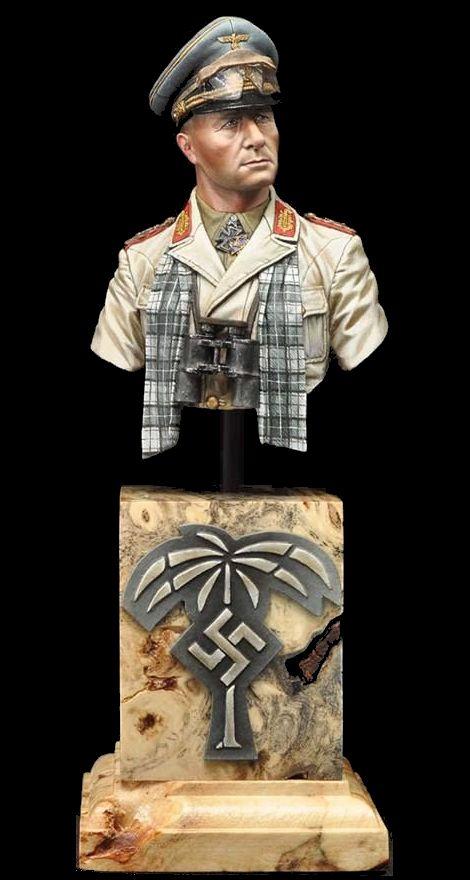 Alexandros models_Erwin Rommel_200mm_Bust
