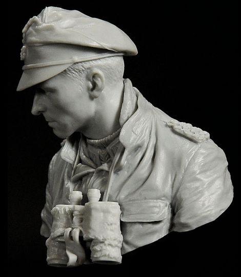Life Miniatures_Joachim Peiper_1/10 scale_bust_Unpainted