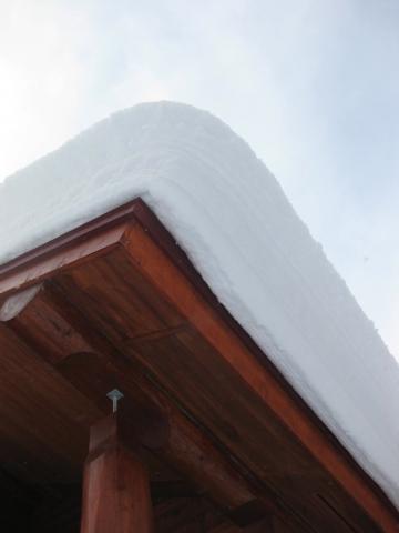 屋根の雪0220