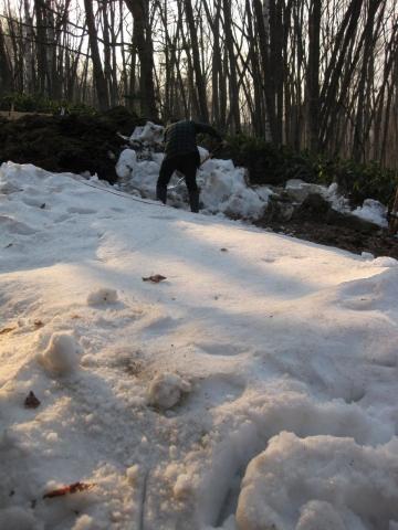 雪かき0425