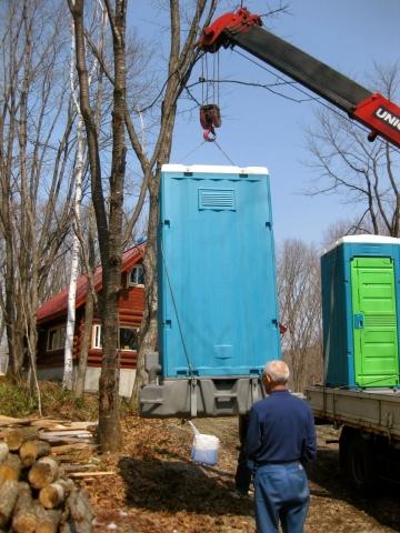 仮設トイレ設置0426
