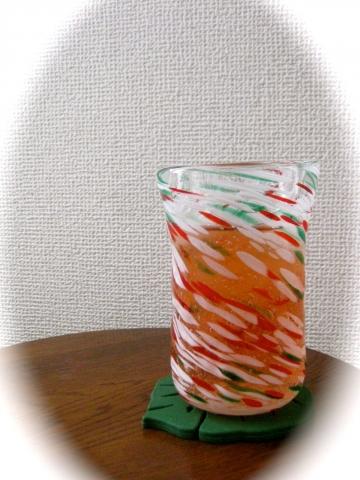吹きガラス作品0708