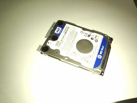 オリジナルHDD取付金具