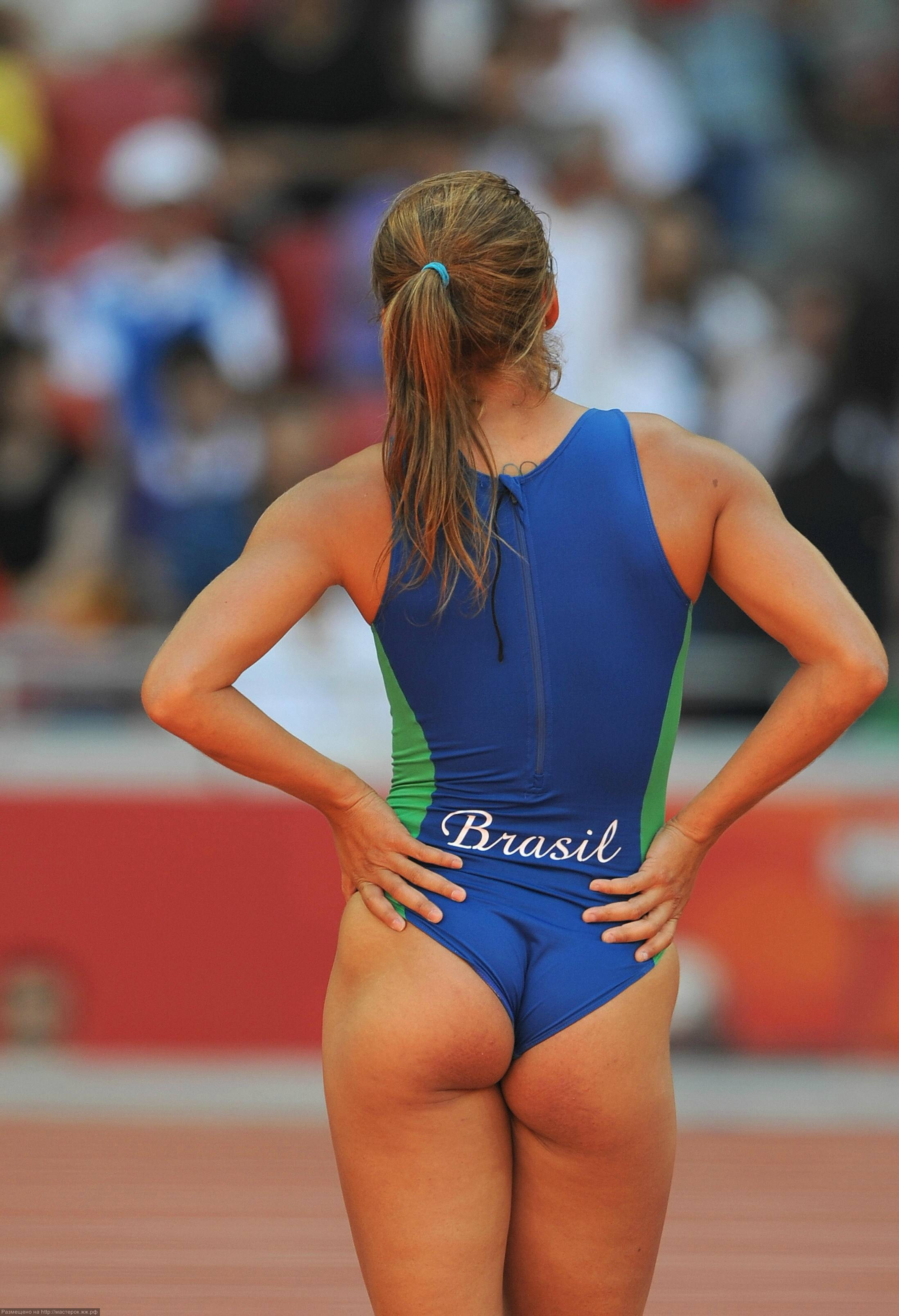無修正スポーツ女性オマンコ