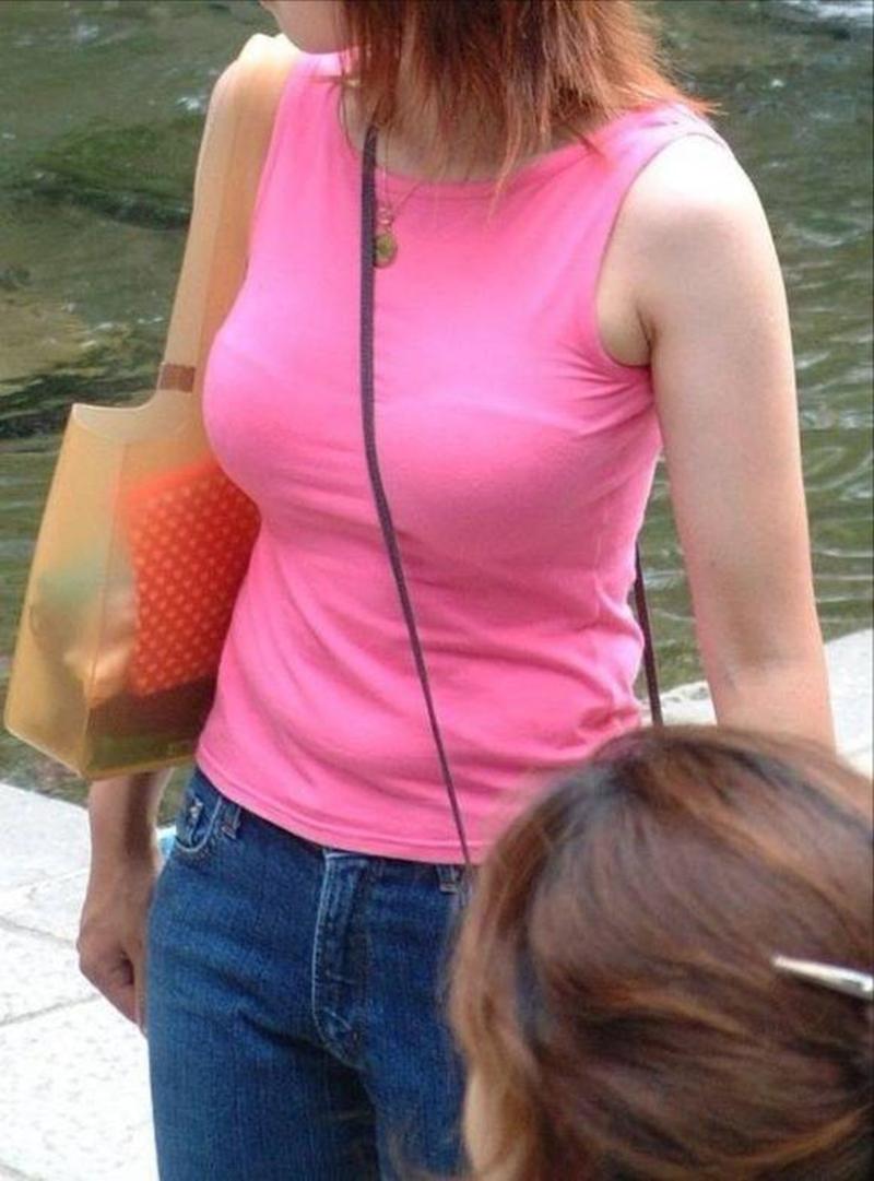 街撮り盗撮 着衣巨乳画像 29