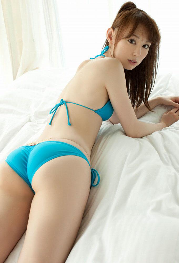 秋山莉奈 オシリーナの水着画像 38