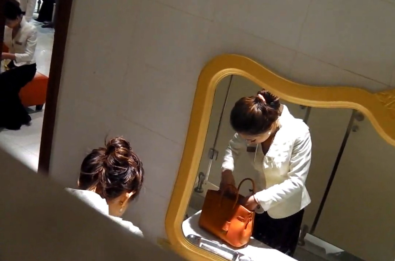 女子トイレ 盗撮 画像 45