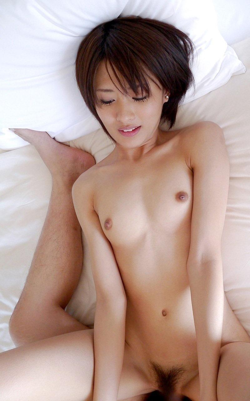 ハメ撮り視点の正常位SEX画像 46