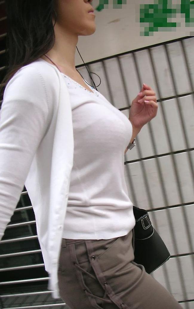 街撮り盗撮 着衣巨乳画像 55
