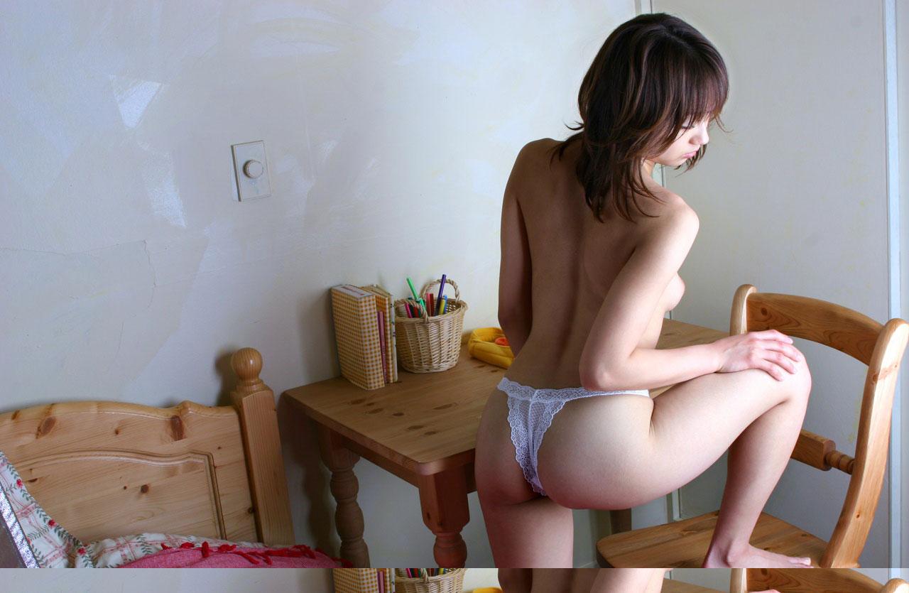 【背中】女性の後ろ姿が色っぽい背中フェチ画像 20