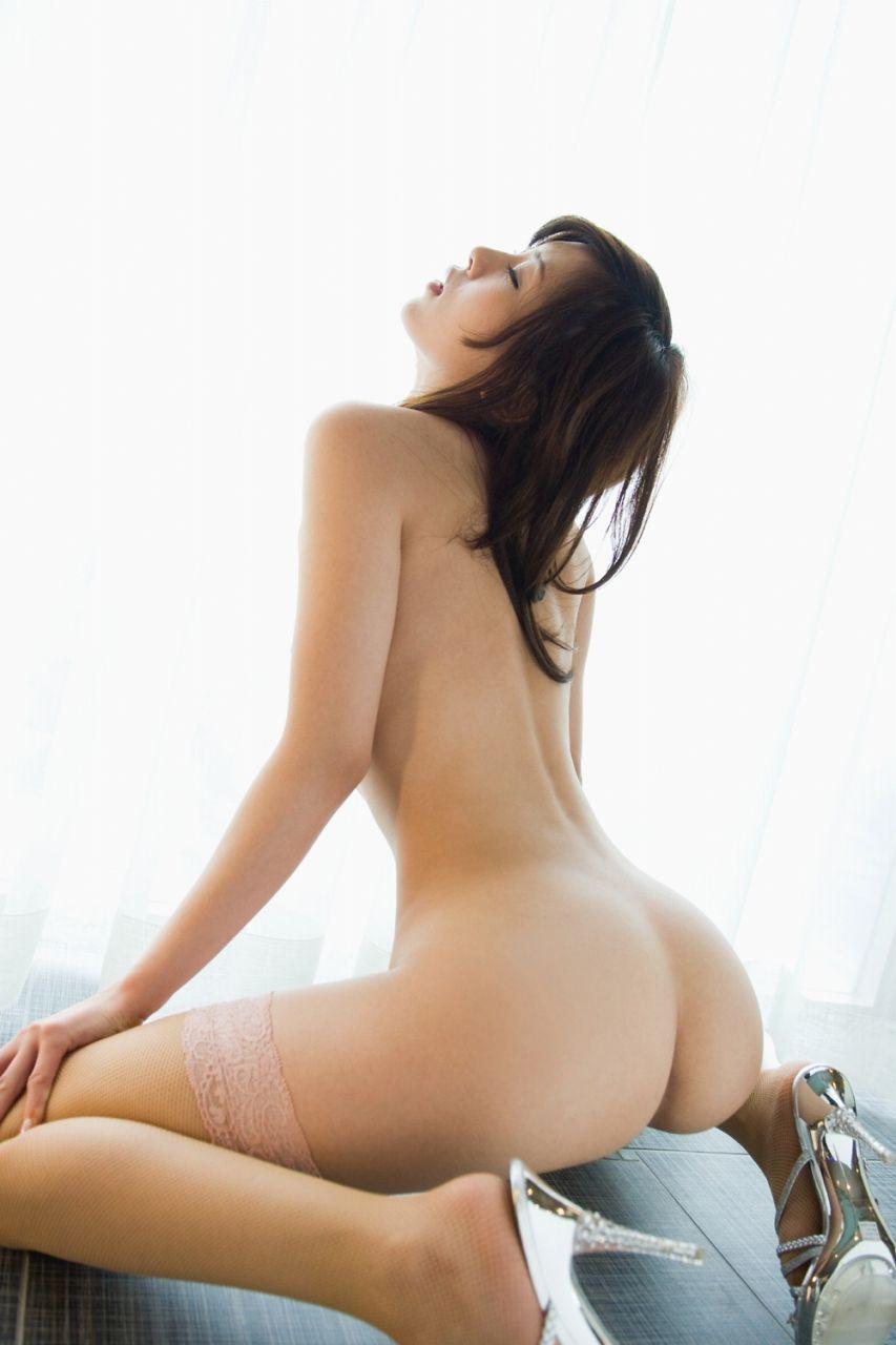 【背中】女性の後ろ姿が色っぽい背中フェチ画像 38