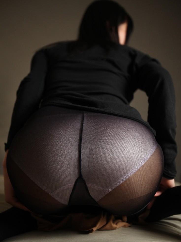 黒パンスト 黒いパンティーストッキング 美脚画像 45