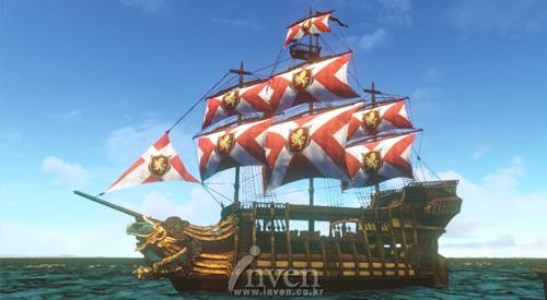 AA中型帆船