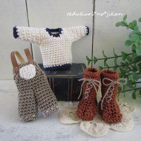 ミニ編み上げブーツ6