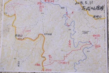 男体山周辺ルート