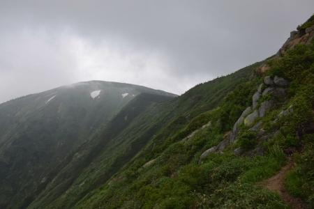 9平が岳ピーク