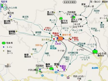 筑波山マップ1