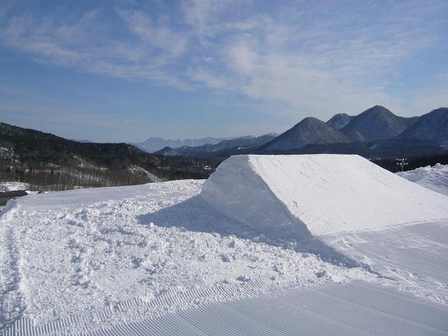会津高原だいくらスキー場 キッカー画像