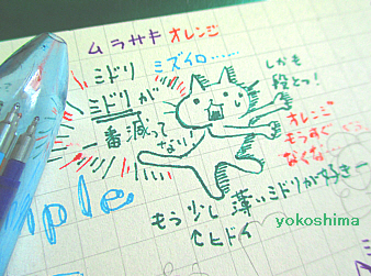 2014 8 20緑のペン