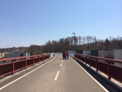 エルフィンロード 上野幌の橋